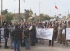 Tuzhurmatu'da Öğretmenler Greve Gitti