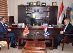 Büyükelçi Yıldız Irak Sınır Kapıları Komisyonu Başkanı İle Görüştü