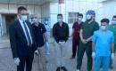 Kerkük'te Koronavirüsü yenen son iki kişi taburcu edildi